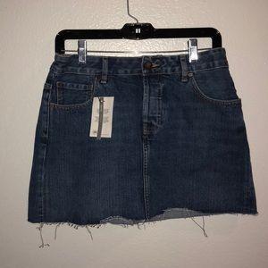 ASOS Mini Jean Skirt